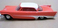 1957 Desoto Fireflite 4 Door Sedan promo model