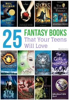 25 Top And Best Fantasy Books For Teens
