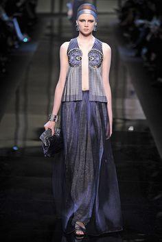 Giorgio Armani Privé Couture Spring 2014 [Photo by Giovanni Giannoni]