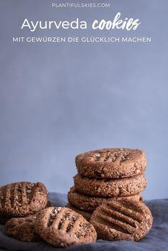 Tahina Kardamom Kekse - Nussfrei & glutenfrei - Ayurveda Rezepte Vegan - Gesunde World Vegan Sweets, Vegan Snacks, Vegan Desserts, Delicious Desserts, Dessert Recipes, Diet Recipes, Healthy Baking, Healthy Treats, Vegan Christmas Cookies