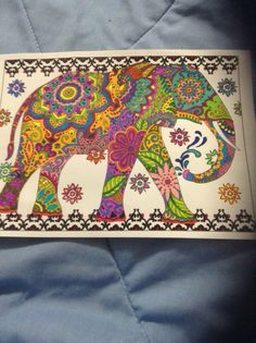 My Favorite Picture I Colored So Far From Mehndi Designs Book Creative Haven