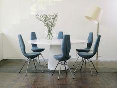 Runder Esstisch in tollem Design für gesellige Mahlzeiten   Eszimmer ...