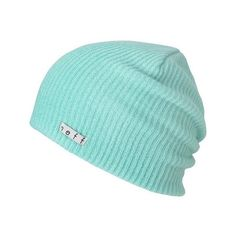 62bdf8b2218 blue neff beanie HATS ❤ liked on Polyvore featuring accessories