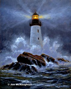 Old Lighthouse | McNaughton Art Classes