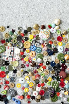 Lovely assortment of buttons