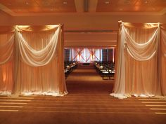 A grand entrance to a St Louis wedding ceremony at The Westin Hotel.  Let me help you Find A Venue. A mini consultation is $100 for 10 days. wedding ceremonies, decor, st louis, idea, venu, grand entrance, minis, westin hotel, hotels
