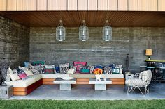 Brimming with inventive ideas, these inspired spaces from our archives maximize outdoor seating for summer entertaining