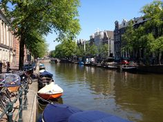 Kloveniersburgwal. Amsterdam.