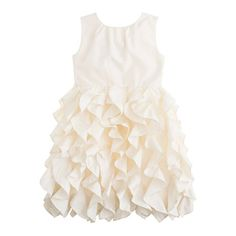want this dress for the flower girl! Love the new wedding collection from J. Crew.