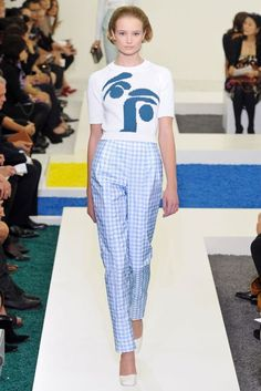 Statement Trousers - spring/summer 2012 trend | British Vogue