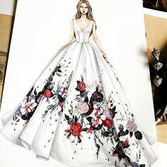 "212 Likes, 1 Comments - Fashion Art and Sketches (@best.fashion.art) on Instagram: ""Regram @eris_tran . . . . . . #fashionillustrations #aquarelle #aquarellepainting #draws…"""