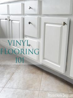Vinyl Flooring 101.  Come learn 5 things you may not know already about vinyl flooring!  www.providenthomedesign.com