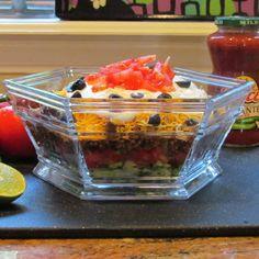 Post image for Layered Taco Salad