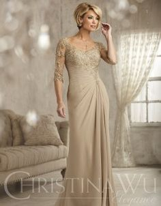 ab534b0a95e Mother of the Bride Dresses   Gowns. Mother-of-the-Bride Dresses  Pleated