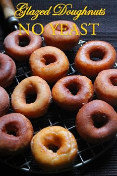 Homemade Donuts Recipe Without Yeast YUMMY TUMMY: Easy Glazed Doughnuts Recipe How to Make Doughnuts without Yeast Yeast Free Cake Doughnuts Recipe Homemade Donut Recipe Without Yeast, Doughnuts Recipe No Yeast, Homemade Glazed Donut Recipe, Homemade Doughnuts Easy, Baked Donut Recipes, Easy Yeast Donut Recipe, Yeast Free Recipes, Bread Recipes, Delicious Donuts