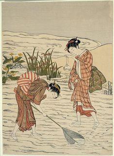 Netting Killifish by Suzuki Harunobu