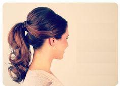 Vintage Hairstyle - DIY