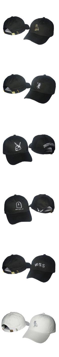 Ovo Drake Caps Mens Hip hop Streetwear Fashion Brand Black Snapback Baseball Cap Strap back Hotline Bling Gold Owl Swag hats 9 $9.61