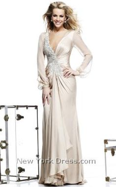 Tarik Ediz 92225 - NewYorkDress.com This would be really pretty and they have navy