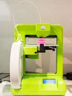 CES 2013: New CubeX 3D Printer Spits Out Objects the Size of Basketballs