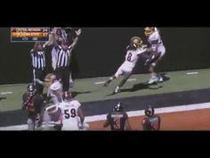 Central Michigan University with amazing Hail Mary pass to win over Oklahoma State.