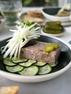 Pork Duck & Fig Terrine flavour packed & easy to make. You will feel so much accomplishment with little effort when making this terrine. Pate Recipes, Duck Recipes, Beef Recipes, Ham Hock Terrine, Duck Terrine, Foie Gras, Rillettes Recipe, Potted Meat Recipe, Good Food