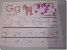G for goat Letter G Activities, Goats, Kindergarten, Lettering, Kindergartens, Drawing Letters, Preschool, Preschools, Pre K