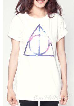 You found me! Thumbs Up! Deathly Hallows T-shirt #tshirt #tshirtdesign #geek