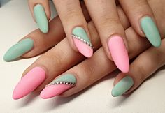 Gel Matte Nails