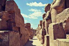 Teme of Karnak  Luxor  Egypt by Shrouk Magdy