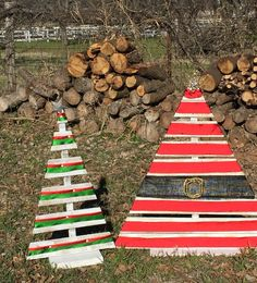 Bolton's pallet trees Woodland Decor, Rustic Decor, Bath Towel Hanger, Tree Branches, Trees, Pallet Tree, Something Old, Wall Hooks, Christmas Ornaments