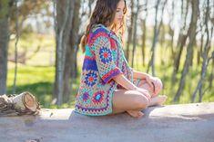 Podés encontrar este patrón y muchos más en mi tienda on-line. Incluye instrucciones detalladas con el paso a paso y enlace a videotutoriales. Summer Patterns, Crochet Clothes, Cover Up, Etsy Shop, Shopping, Vintage, Link, Clothing, Inspiration