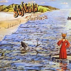 Genesis Foxtrot LP vinyl record album in gatefold sleeve 1975 UK issue great condition peter gabriel phil collins gift for prog music fan