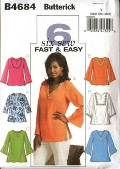 Butterick pattern B4684