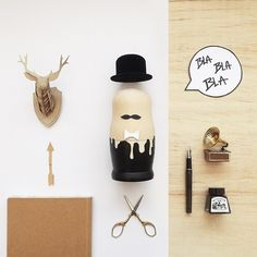 wooden doll | Styling