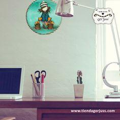 ¡OFERTA! -37% de Descuento. ¡Dale un toque Gorjuss a tu hogar con los platos decorativos más bonitos del mundo! https://www.tiendagorjuss.com #gorjuss #santoro #platos #dish #decoración