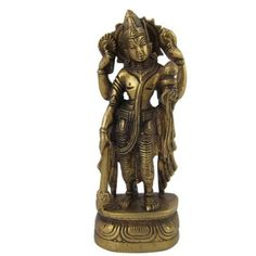 Amazon.com: Hindu God Vishnu Brass Statue Religious Gifts Ideas 2 X 1.5 X 5.75 Inches: Home & Kitchen