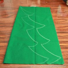 Felt Christmas Tree Pattern