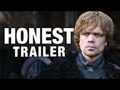 """Honest Trailers - Game of Thrones - YouTube. """"All men must die, who are in any way close to Sean Bean"""" - I DIED :D"""