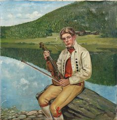 Spelman i Delsbodräkt. Folklore, Illustration, Artist, Painting, Image, Artists, Painting Art, Paintings, Illustrations