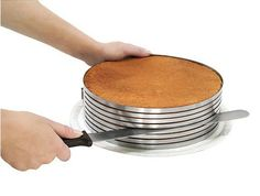 Piece of Cake Layer Slicing Kit | create perfect layers  Kitchen Krafts