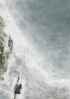 SHELL HOUSE situation plan  //  Marion Aubert, Constantin Guichard, Léon Bührer Architecture Concept Drawings, Architecture Background, Architecture Collage, Architecture Graphics, Architecture Visualization, Architecture Portfolio, Architecture Design, Planer Layout, Urban Design Diagram
