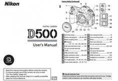 Nikon D500 User's Manual Now Available for Download | Camera News at Cameraegg