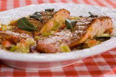 Pırasalı Somon Balığı
