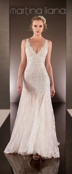 Vestido de novia p/delantera