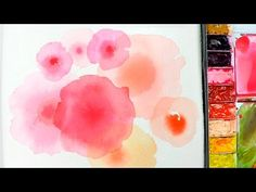 [LVL1] Watercolor Bleeding Technique - Basic - YouTube More
