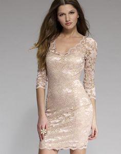 Lipsy Lace 3/4 Sleeve Dress
