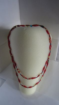 As your doing your Holiday Shopping this Season don't forget to stop by our Etsy Shop! We just posted more of our beautiful long necklaces made by the Grannies of Nyaka, take a look!