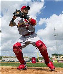 catcher Yadier Molina
