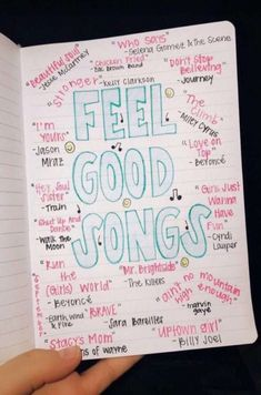 List of fun, feel-good songs to listen to when you need a pick-me-up or some motivation Good Vibe Songs, Mood Songs, Music Mood, Listening To Music, Music Quotes, Music Lyrics, Music Songs, Teen Songs, Motivational Songs